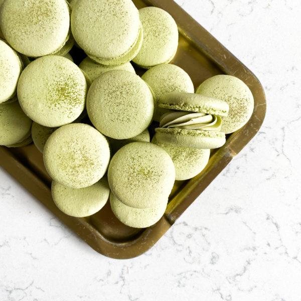 Зелёный Японский Чай Матча | макарон