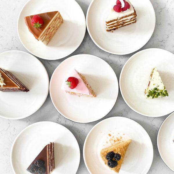 Кусочек торта из наличия, 200-220g