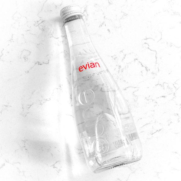 Evian - природная вода, 330ml