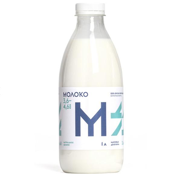 Молоко Братья чебурашкины, 1l.