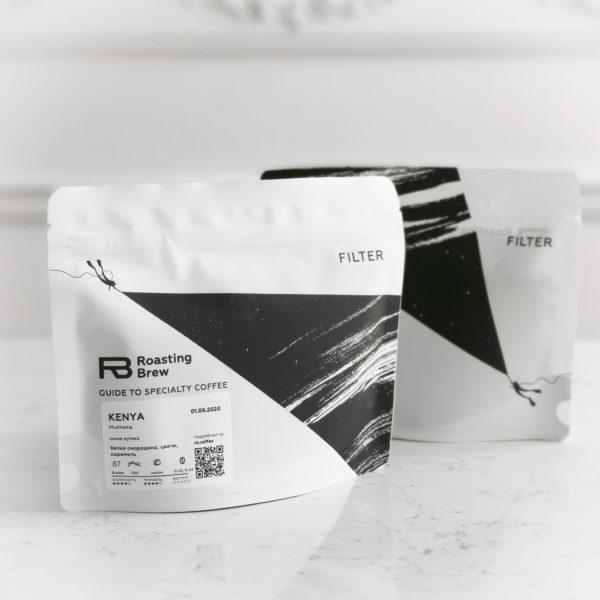ROB Кения Мутека, 200g., кофе в зернах