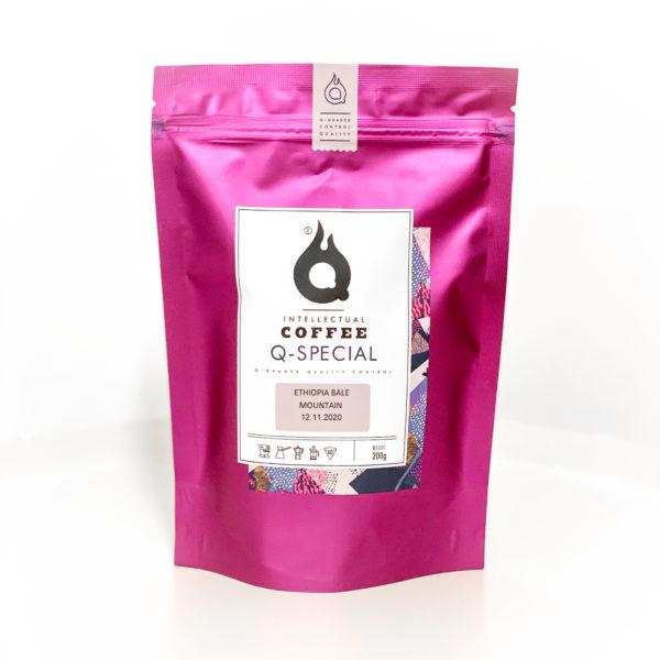 QQC Эфиопия Бале Маунтин, 200g., кофе в зернах