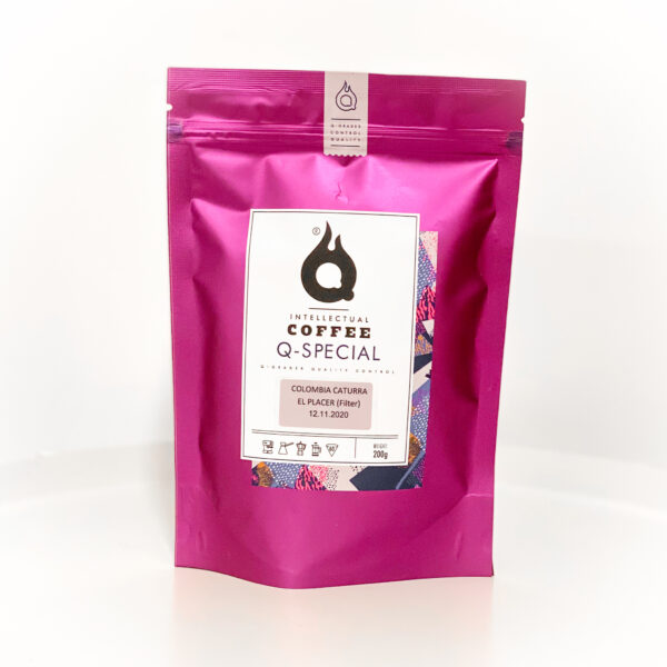 QQC Колумбия Эл Плейсер, 200g., кофе в зернах