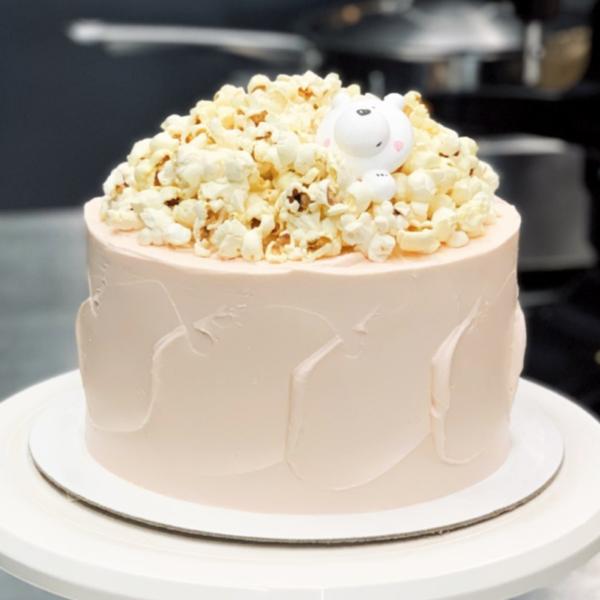 Торт с горой попкорна, 2-9kg