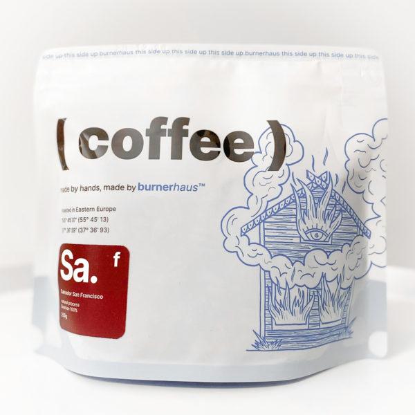 BRH Сальвадор Сан Франциско, 200g, кофе в зернах