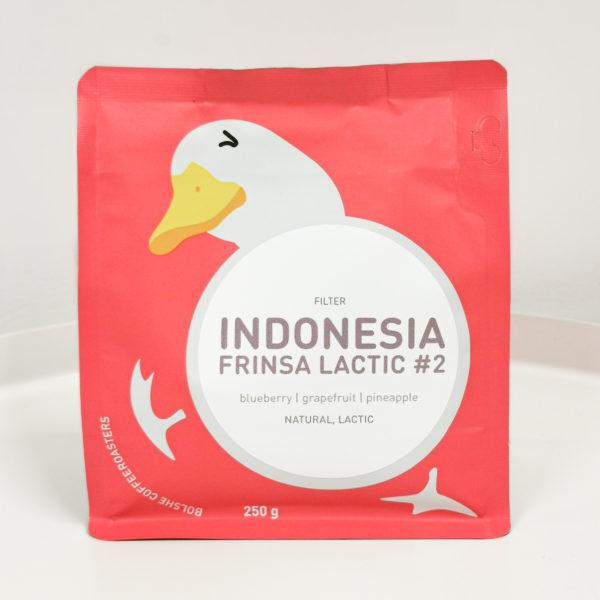 BCR Индонезия Лактик, 250g, кофе в зёрнах
