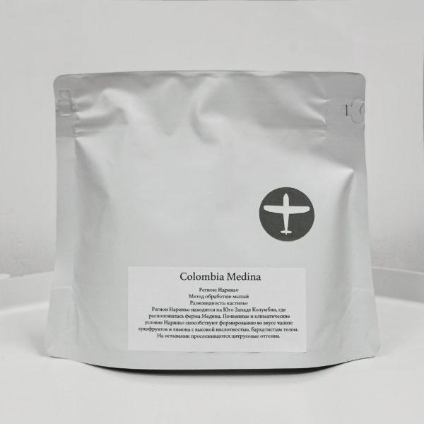 AER Колумбия Медина 250g, кофе в зёрнах