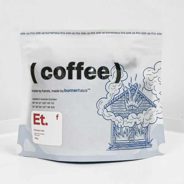 BRH Эфиопия Коке, 250g, кофе в зёрнах