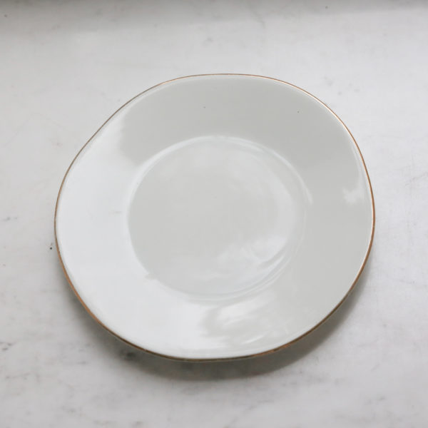 Тарелка 22 см с неровным краем