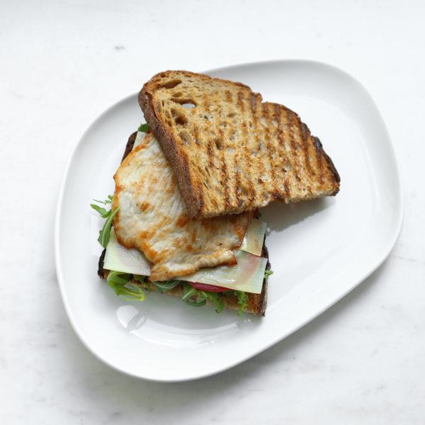Сэндвич: Индейка, Томаты, Руккола