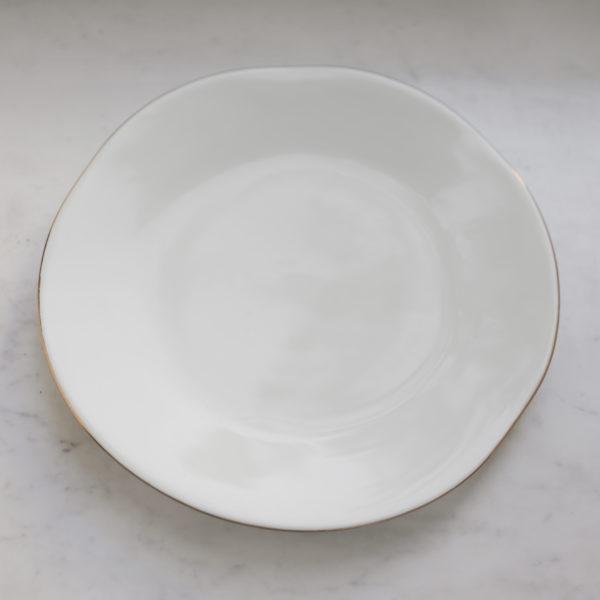 Тарелка 28 см с неровным краем