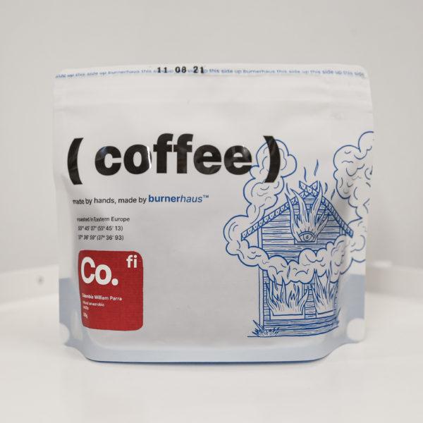 BRH | Колумбия Вильям Пара, 250g, кофе в зёрнах
