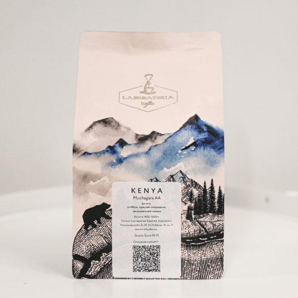 LAC | Кения Мучагара, 250g, кофе в зёрнах